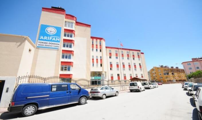 Konya Arifan Erkek Öğrenci Yurdu