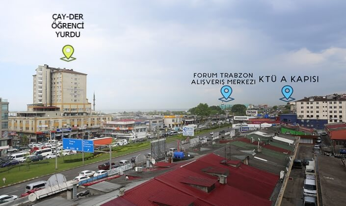 Trabzon Çaykara Dernekpazarı Erkek Öğrenci Yurdu