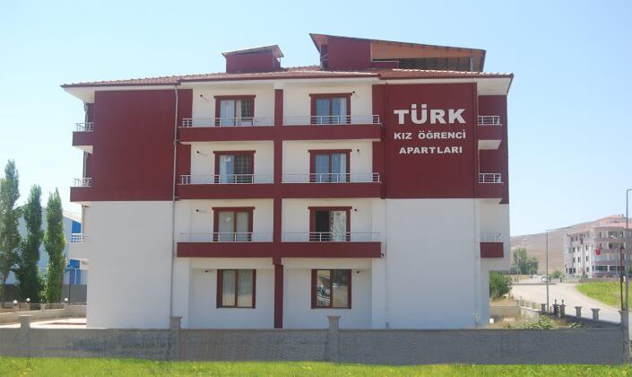 Elazığ Özel Türk Kız Öğrenci Apartları