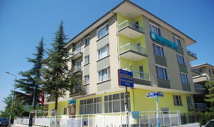 Ankara Göksu Erkek Öğrenci Yurdu (Emek şubesi)