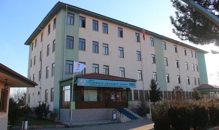 Isparta Türkiye Diyanet Vakfı Erkek Öğrenci Yurdu