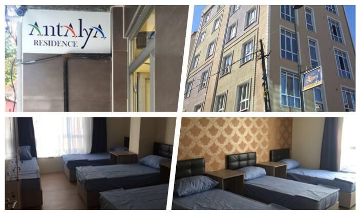 İstanbul Antalya Residence Erkek Öğrenci Yurdu