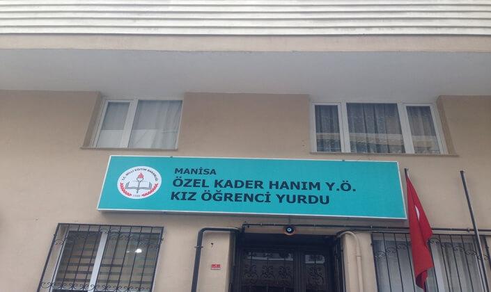 Manisa Kader Hanım Kız Öğrenci Yurdu